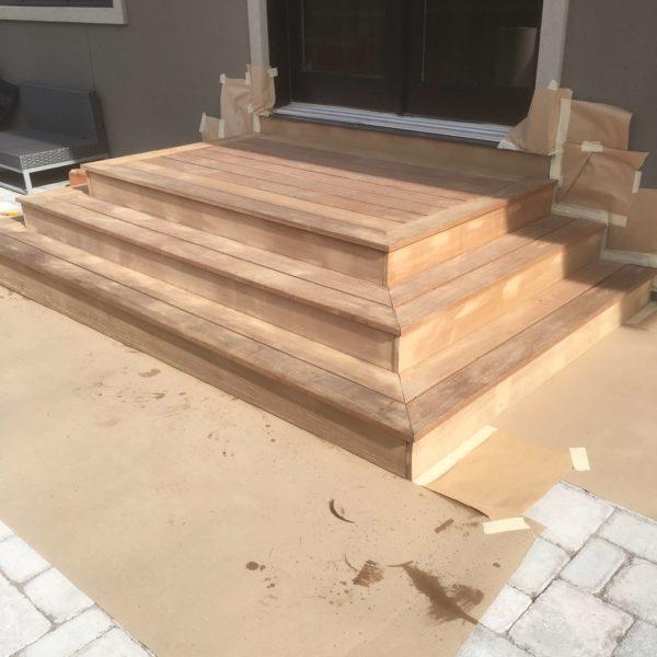 Back Steps Before